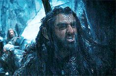 Thorin... I don't remember what he was yelling here.