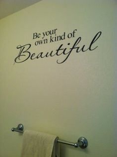 Wall Decal Quote  Be Yourself Living Room Bedroom Quote Vinyl - Custom vinyl wall decals sayings for bathroom