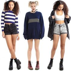 So many fresh #vintage arrivals up for grabs NOW in the shop! Stripes knits Calvin Klein mom jeans raunchy sweatshirts heck we've even got some JNCO goin' on in there right now! DON'T MISS OUT! Retro Outfits, New Outfits, Cool Outfits, Grunge Fashion, 90s Fashion, Fashion Outfits, Estilo Retro, Fashion Catalogue, Fashion Poses