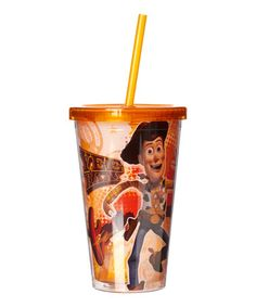 This Toy Story Howdy Woody 16-Oz. Lidded Cup is perfect! #zulilyfinds