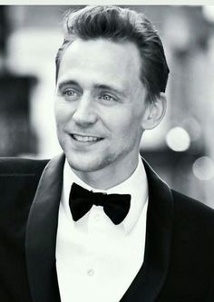 Tom in a Tux is hard to resist