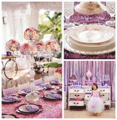 Sofia the First themed birthday party via Kara's Party Ideas KarasPartyIdeas.com Printables, cake, favors, banners, food, and more! #sofiathefirst #sofiathefirstparty #princessparty (2)