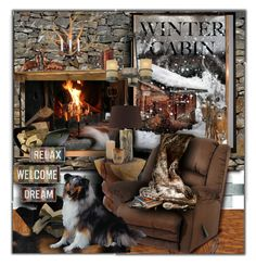 """Winter Cabin"" by lastchance ❤ liked on Polyvore featuring interior, interiors, interior design, home, home decor, interior decorating, Brewster Home Fashions, Loloi Rugs, Catnapper and Arteriors"