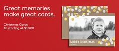 50 New Holiday-Inspired Photo Cards from VistaPrint
