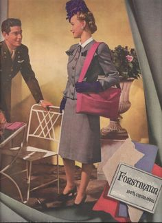 Forstmann wool. 1940s
