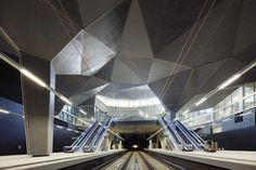 Logroño High Speed Train Station, Logroño Abalos Sentkiewicz Arquitectos, railway station, city architecture, underground architecture