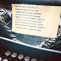 On my little things in my home. Typewriter, Little Things, Let It Be, Illustration, Instagram Posts, Illustrations, Typewriters