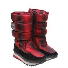 Imitation Fur Design(Red)Women's Short Boots, RED, 38 in Boots   DressLily.com