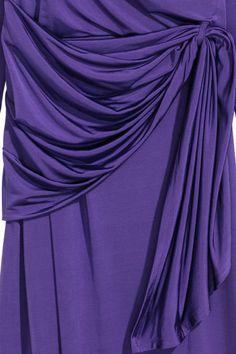 Gedrapeerde jurk - Paars - DAMES | H&M NL