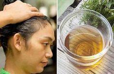 Receta de champú casero y natural para lucir un cabello brillante y con mucho volumen.