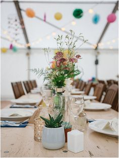 center florals Images by Alexander J Collins Wedding Weekend, Home Wedding, French Wedding Style, Intimate Wedding Ceremony, Wedding Decorations, Table Decorations, Time To Celebrate, Beautiful Family, Floral Bouquets