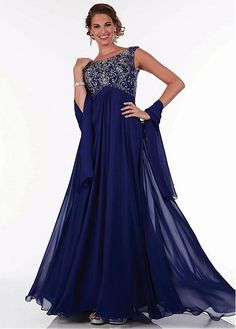 Buy discount Glamorous A-line Gown Floor-Length Mother of the Bride Dress at Dressilyme.com
