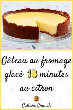 Lemon Cheesecake, Cheesecake Recipes, Dessert Recipes, Dessert Light, Cake & Co, Gluten Free Recipes, Food Inspiration, Nom Nom, Cheesecakes