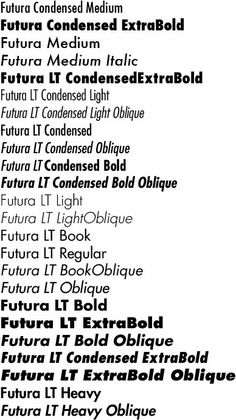 61 Best Futura images in 2019 | Futura font, Poster fonts