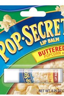 Whats better than popcorn as a snack? Oh yea, having popcorn flavored lip balm. Flavored Popcorn, Butter Popcorn, Diy Foot Soak, Funny Lips, Chapstick Lip Balm, Flavored Lip Gloss, Nice Lips, Weird Food, Funny Food