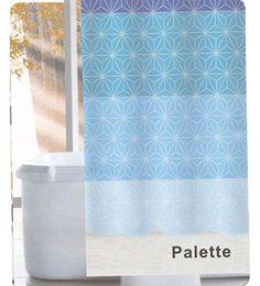 Linenwalas Palette Design Water Repellent Bathroom Shower… Bathroom Essentials, Bathroom Shower Curtains, Home Kitchens, Palette, Water, Design, Gripe Water, Kitchen