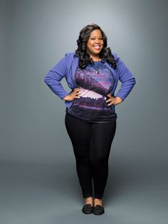 Amber Riley as Mercedes Jones in Glee Season 6