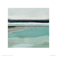 White Tide Giclee Print by Beth Wintgens at Art.com