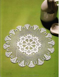 Crochet and arts: crochet doilies