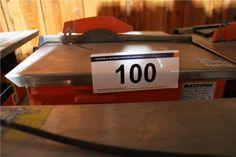 Karner & Dechow Industrie Auktionen - Kreissägetisch Battipav Queen 180, DM max. ca. 180 mm - Postendetails Dm, Flip Clock, Tools, Decor, Auction, Instruments, Decoration, Decorating, Deco