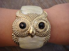 owl bracelet-I get so many compliments when I wear this!!! <3