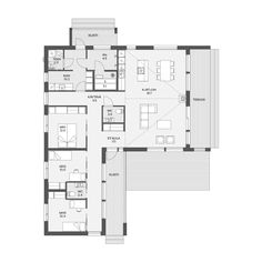 Big Houses, House Floor Plans, Building A House, Sweet Home, Layout, Exterior, Flooring, How To Plan, Studio