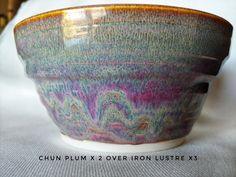 Glazes For Pottery, Ceramic Pottery, Pottery Art, Pottery Studio, Pottery Techniques, Glazing Techniques, Ceramic Bowls, Ceramic Art, Pottery Making