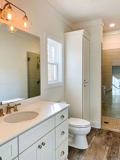 Compact and Versatile 1- to 2-Bedroom House Plan - 24391TW | Architectural Designs - House Plans Bathroom Layout, Bathroom Interior, Modern Bathroom, Small Bathroom, Master Bathrooms, Bathroom Ideas, Bathroom Bin, Bath Ideas, Interior Walls