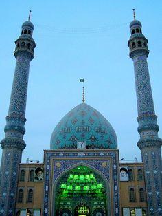 Azam Mosque In Qom QomIRAN Pinterest Mosque And Iran - The mesmerising architecture of iranian mosques