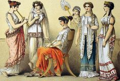 Fancy Dress - Greek Costume Ideas for Drama, Carnival Floats & Olympic #CarnivalFloatsOlympicDresses, #FancyDress, #Fashion, #FashionHistory, #GreekCostumeIdeas, #WesternCivilization