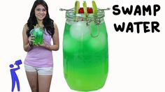 Swamp Water The ultimate giant green drink that's loaded with booze! Party Food And Drinks, Bar Drinks, Yummy Drinks, Beverages, Cocktails, Cocktail Drinks, Alcoholic Drinks, Swamp Water, Water 3