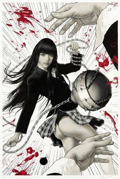 Kill Bill - Gogo Yubari by Aype Bevan