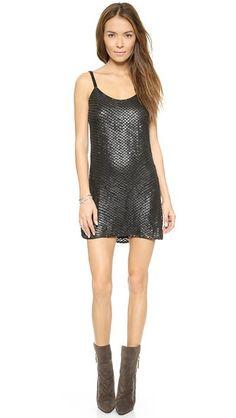 Parker Parker Black Kate Dress