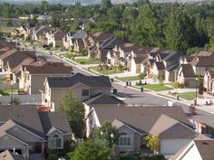 Suburban Neighborhood. Houses in the suburbs are great examples of fast intradisciplinary.  They are all almost identical  with the same idea of holding families.