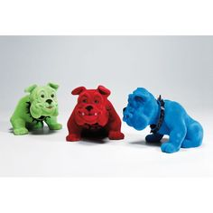 Διακοσμητικό  Swing Bulldog Assorted Το χαριτωμένο διακοσμητικό μπουλντόγκ με βελούδινη επιφάνεια. Με ένα απλό χάδι θα κουνήσει χαρωπά το κεφαλάκι του. Διατίθεται σε τρία χρώματα για να επιλέξετε αυτό που σας αρέσει. Η τιμή αφορά το τεμάχιο. Kare Design, Dog Lovers, Dinosaur Stuffed Animal, Puppies, Toys, Animals, Random, Activity Toys, Cubs