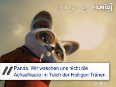 Po ist einfach der geilste Panda der Welt :-)   #filmzitat #kungfupanda3