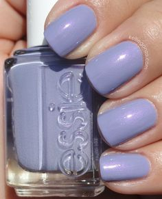 Essie she's picture perfect nail art в 2019 г. essie nail co Nails & Co, Fun Nails, Hair And Nails, Glitter Nails, Pretty Nail Colors, Pretty Nail Art, Pastel Nails, Purple Nails, Essie Nail Polish Colors