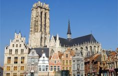 Beautiful city of Mechelen in Belgium