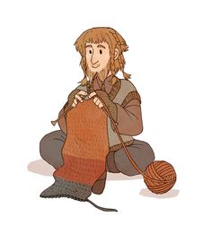 """""""Many dwarf men do not wish to marry, as they are too busy with their crafts."""" I'm sorry but this is really what I was thinking."""