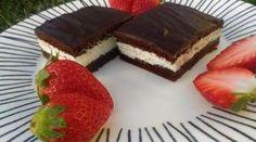 Zdravý Kinder mliečny rez: Upečte si chutný tvarohový koláč bez múky.
