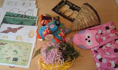 Owl Babies Home Made Story Sack