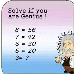 Solve if you are Genius!
