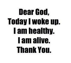 Thank you,God!