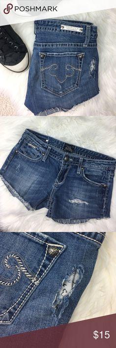 Express Denim Cutoffs Express Denim Cutoffs Size 6 Express Shorts Jean Shorts