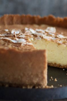 Try making this devilishly delicious tart for any occasion. Once you've perfected it, it's the only recipe for Milk Tart you'll ever make! 3 Recipe Dessert, Dessert Recipes, Desserts, Milk Recipes, Tart Recipes, Custard Recipes, Curry Recipes, Coconut Tart, Coconut Slice