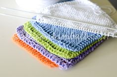 As part of our Relief Society (women's group) activity last night we learned how to make washcloths, either by knitting or crocheting. I was able to help make the knitted samples and thought I would share the pattern here. Designer:...