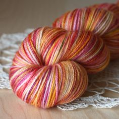 Corazon  Hand Dyed Yarn | Phydeaux Designs