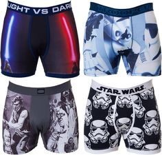 Star Wars Boxer Brief Set: Star Wars Mens Boxers