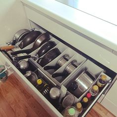 These space-saving organizing hacks come from Japan and they are absolutely brilliant!In this post, you will learn how to organize nearly every room in your home with these storage and space saving tips and tricks. Organisation Hacks, Organizing Hacks, Kitchen Cabinet Organization, Home Organization Hacks, Kitchen Storage, Purse Organization, Food Storage, Storage Ideas, Cabinet Ideas