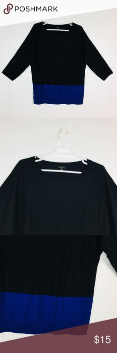 Talbots Women's  Sweater Size XL Black Casual Talbots Women's  Sweater Black/ Blue Casual Knit top Blouse  Size: XL Color: Black Very good conditions. A3 FOR ACCURATE SIZING MEASURE A PAIR OF YOUR CLOTHE WHILE FLAT AND COMPARE TO OUR SIZES above. Sizes listed are based on the item label. Item fit and sizing can vary by Manufacturer Talbots Tops Blouses